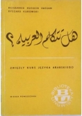 Zwięzły kurs języka Arabskiego