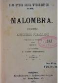 Malombra, 1901 r.