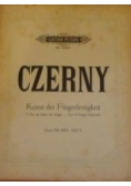Kunst der Fingerfertigkeit - L'Art de délier les doigts - Opus 740(699). Heft V. Wyd. ok. 1900r. (nuty)