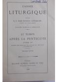 L' Anne Liturgique, 1926 r.