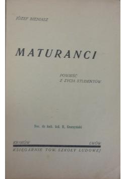Maturanci,1933r.