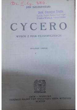 Cycero, 1923 r.