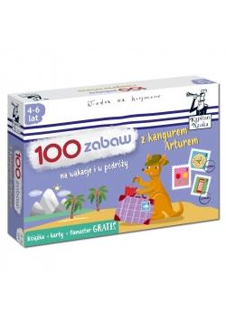 100 zabaw z kangurem Arturem. Na wakacje i...
