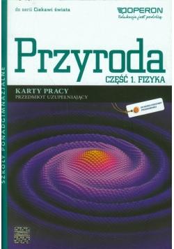Ciekawi świata Przyroda Fizyka Karty pracy Część 1 Przedmiot uzupełniający