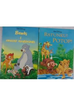 Bambi i smutny niedźwiedź / Ratunku! Potop!