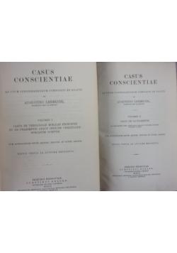 Casus Conscientiae, volumen I-II, 1907 r.