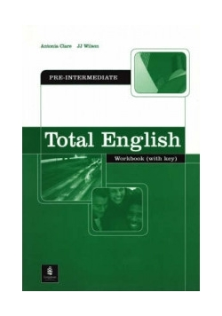 Total English workbook with key