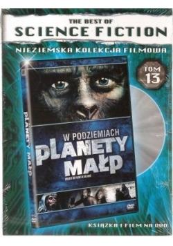 W podziemiach Planety małp Tom 13- książka i Płyta DVD