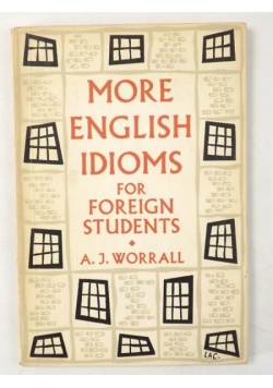 More English Idioms for Foreign Students