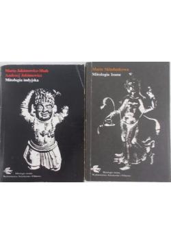 Zestaw dwóch książek - Mitologia indyjska/Mitologia Iranu