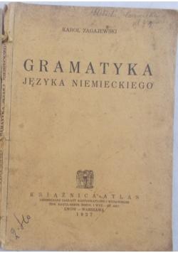 Gramatyka języka niemieckiego, 1927 r., 2 książki
