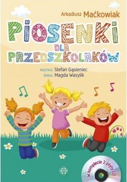 Piosenki dla przedszkolaków 2CD(kpl)