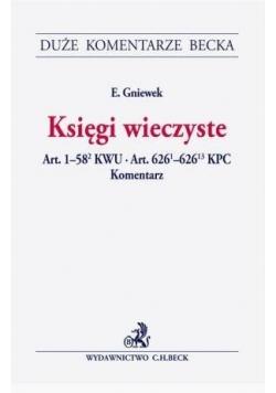 Księgi wieczyste.Art.1-582 KWU.Art.6261-62613 KPC