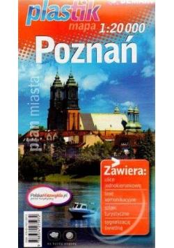 Plan miasta - Poznań PLASTIK  DEMART