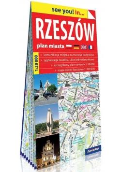 Plan miasta - Rzeszów 1:20 000