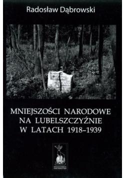 Mniejszości narodowe na Lubelszczyźnie w latach 1918-1939