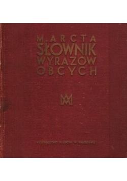 Słownik frazeologiczny, 1934 r.