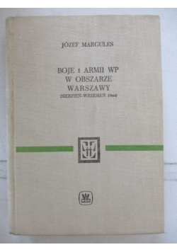 Boje 1 Armii WP w obszarze Warszawy (sierpień-wrzesień 1944)