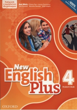 New English Plus 4 Podręcznik z repetytorium + CD