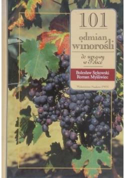 101 odmian winorośli do uprawy w Polsce