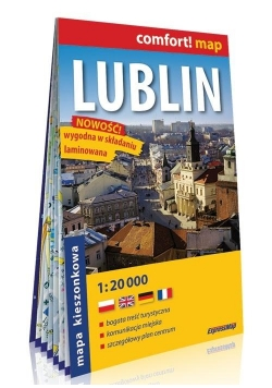 Comfort! map Lublin 1:20 000 mapa MINI