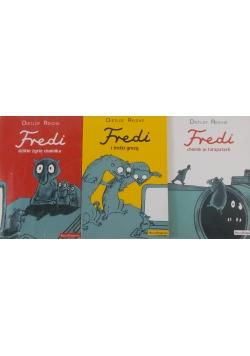 Fredi, zestaw 3 książek
