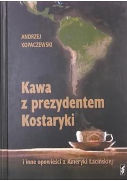 Kawa z prezydentem Kostaryki
