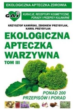 Ekologiczna apteczka warzywna T.3