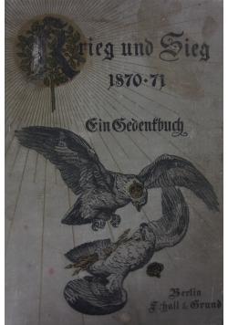 Krieg und Sieg 1870-71, ok. 1895r.