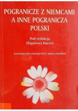 Pogranicze z Niemcami a inne pogranicza Polski