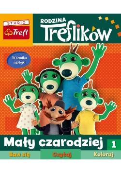 Rodzina Treflików Baw się, czytaj, koloruj Tom 1