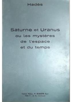 Saturne et Uranus