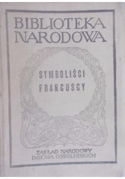 Symboliści francuscy, BN