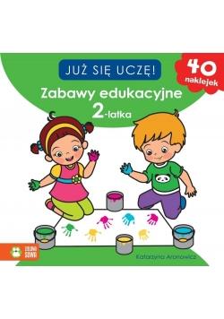 Już sie uczę. Zabawy edukacyjne 2-latka