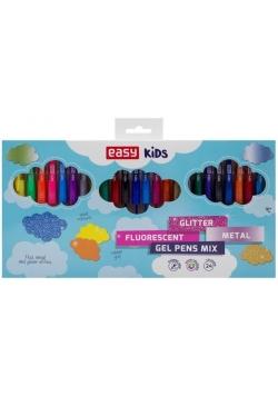 Długopis żelowy Glitter 24 kolory EASY