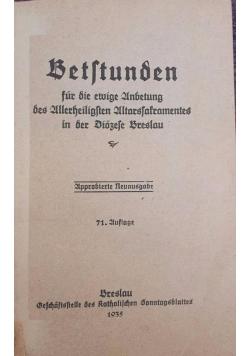 Betstunden, 1935 r.