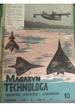 Magazyn technologa przemysłu lotniczego i silnikowego nr. 10, Rok XIV