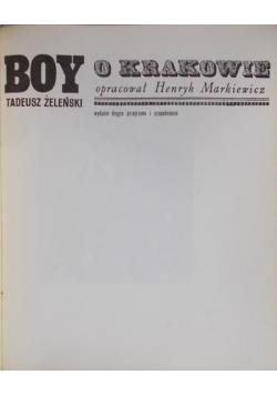 Boy o Krakowie