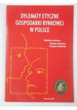 Dylematy etyczne gospodarki rynkowej w Polsce