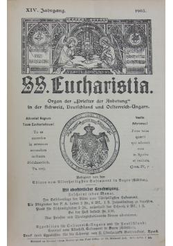SS. Eucharistia, XIV Jahrgang, 1903 r.