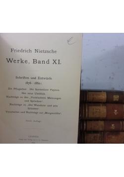 Werke, zestaw 5 książek, ok. 1899r.