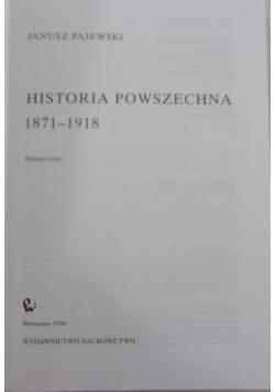 Historia powszechna 1871-1918