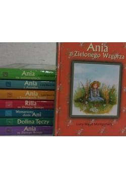 Ania z Zielonego Wzgórza, zestaw 8- książek