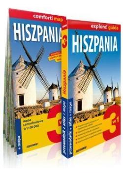 Explore!guide Hiszpania 3w1 Przewodnik Wyd. II