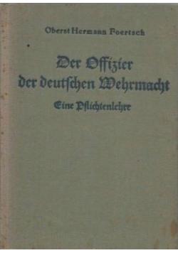Der Offizier Der deutchen Wehrmacht