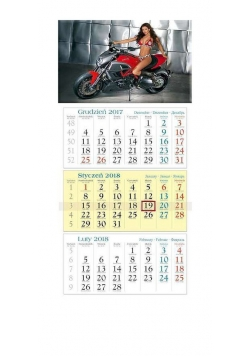 Kalendarz 2018 KT20 Motor