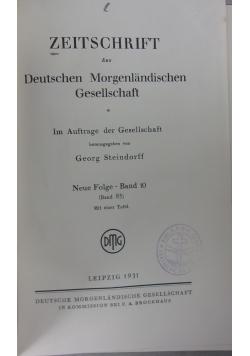 Zeitschrift der deutschen 1931 r.