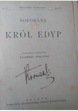 Król Edyp, ok. 1947r.