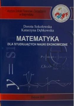Matematyka dla studiujących nauki ekonomizne