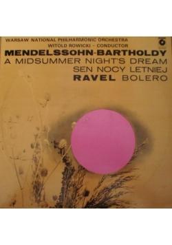 Mendelssohn-Bartholdy, płyta winylowa